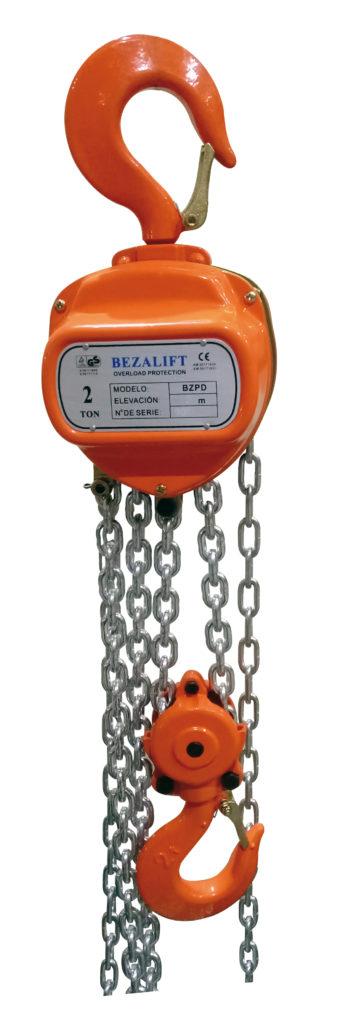Poleas-diferenciales-manuales-Bezalift-BZPD