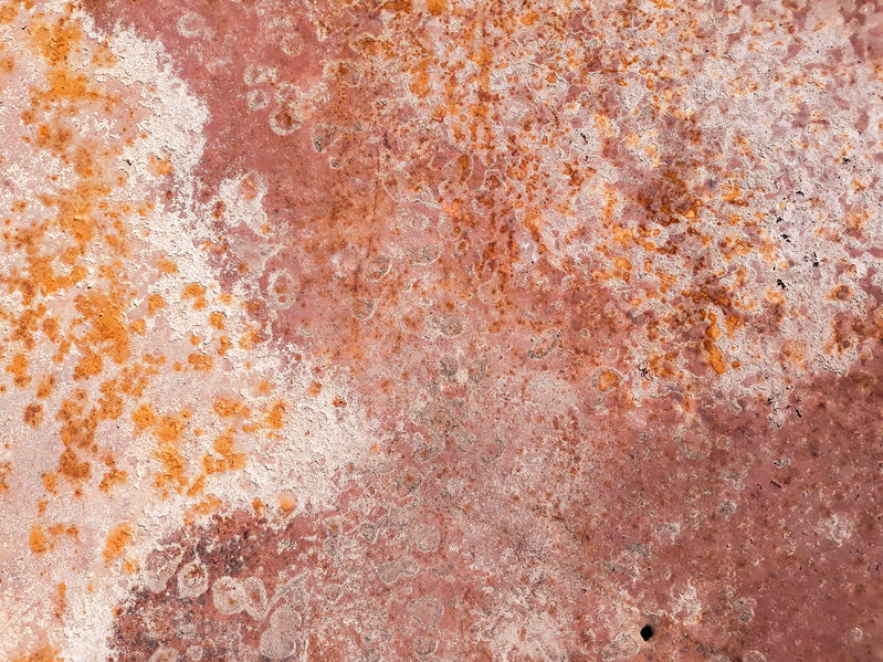 rusted metal background grunge red distressed iron